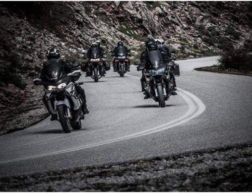 Οδήγηση μοτοσυκλέτας με ομάδα